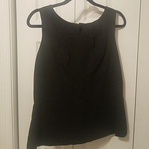 Cabi dark gray sleeveless top size 14 cabi size 14